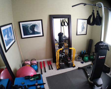 fitness equipment, home gym
