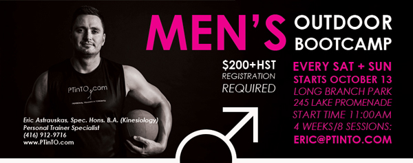 mens boot camp toronto, mens boot camp etobicoke